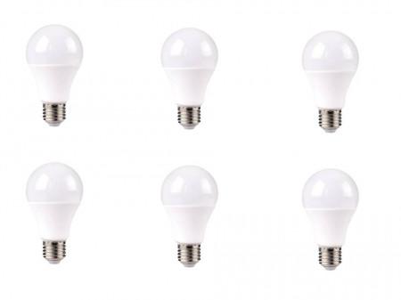 Set 6 becuri LED, lumina calda, 470 lumeni, 6W, echivalent 40W, 2700K, Livarno Lux