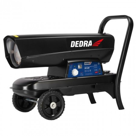 Tun caldura pe motorina, 20Kw, 450 m/cub/h, 19L, variator, Dedra
