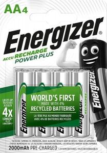 Acumulatori AA, 2000 mAh - Energizer, 4 buc / set