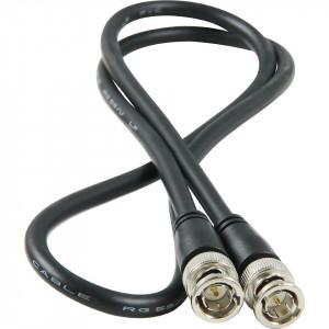 Cablu profesional video , bnc tata la bnc tata, 2m, Lutronic