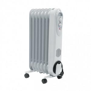 Calorifer electric cu ulei ,7 elementi , 1500w , 2 trepte , termostat , Descon DA-J1500