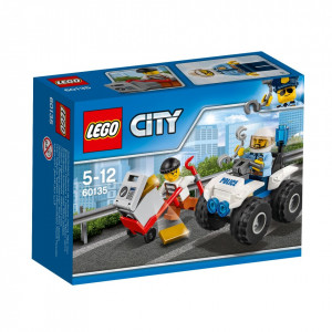 LEGO® City Police ATV de capturare 60135