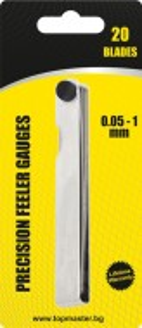 Lera milimetrica , dispozitiv de măsurare , 20 lere 0.05 – 1.0mm , TopMaster