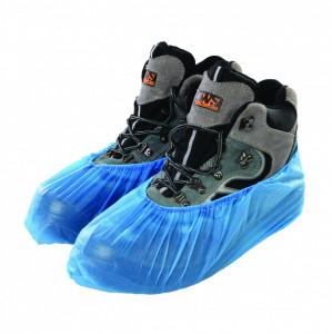 Protectie incaltaminte de unica folosinta cu talpa elastica , Silverline Disposable Shoe Covers 100pk