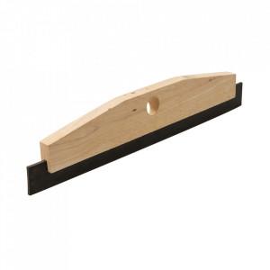 Racleta podele, 450mm, lemn cauciuc, Silverline