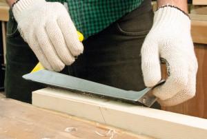 Rindea lemn, rigips , perforatii, 250mm, Silverline