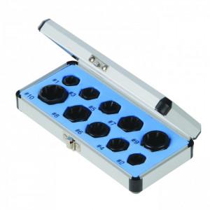 Set 10 piese extractor piulite , suruburi deteriorate , Silverline Damaged Bolt Remover Set 10pce