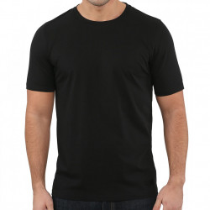 Set 2 tricouri barbati, L alb, negru, 95% bumbac, 5% elastan, muscle fit, EDC by Esprit