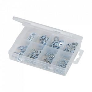Set 210 saibe zincate, grover, M5 - M10, Fixman