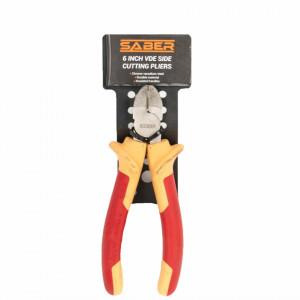Sfic electrician 170 mm, otel intarit, VDE, 1000V, Saber