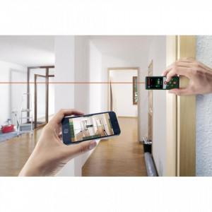 Telemetru laser Bosch PLR 30 C , afisaj color , 30M , Bluethoot
