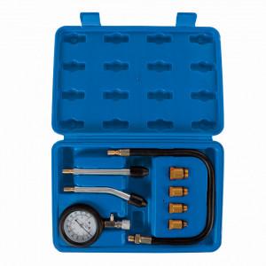 Test compresie auto, benzina, 8 piese , Silverline