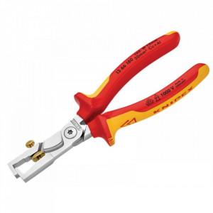 Cleste dezizolat cabluri profesional combinat 190mm, Knipex