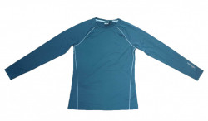 Bluza termica femei, ultra-usoara, M, elastica, verde turquoise, Crivit