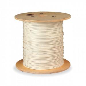 Cablu coaxial profesional, dublu ecranat, folie aluminiu, 152m, 500FT, RG6, 18AWG, 75C, General Cable EVRG6WH
