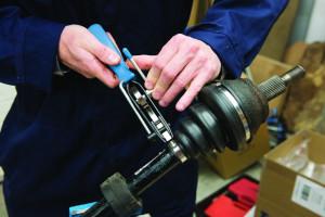 Cleste sertizare pentru coliere metalice , Silverline CV Joint Banding Tool