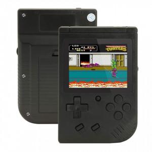 """Consola jocuri portabila, 400 de jocuri, negru, lcd color 3"""", VKTools Plus"""