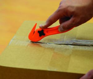 Cutter pentru autocolant , hartie , despachetat Silverline Hi-Vis Film Slitter 150mm