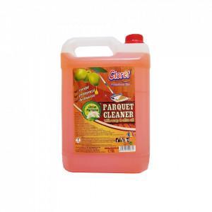 Detergent parchet, lemn, protectie cu ulei de masline, parfum citrice, fara clatire, 5L, Cloret