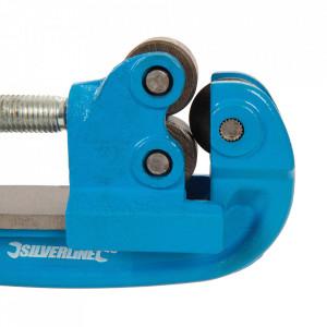 Dispozitiv profesional taiat tevi cupru, aluminiu, 12-50mm, Silverline