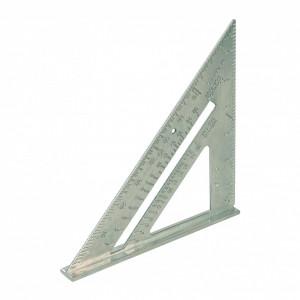 Echer din aluminiu , taieturi la unghi , gradatii imperiale , Aluminium Alloy Roofing Square