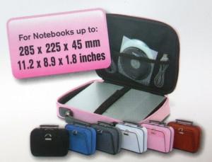 Geanta protectie laptop , 282 x 225 x 45 mm , Roz