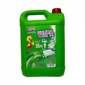 Gel dezinfectant, pe baza de clor, parfumat, 5 L, Cloret