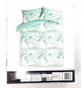 Lenjerie pentru pat de 2 persoane KING , George Home Dragonfly Patchwork