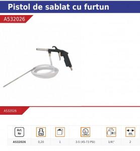 Pistol sablat cu furtun , 3-5 bar , Pansam