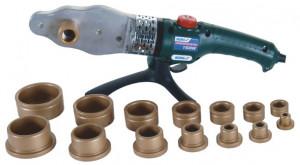 Plita lipit PPR , trusa metal , 1500 W , 7 bac-uri 16-63mm , Dedra