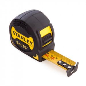Ruleta profesionala , 5 m X 28 mm carcasa din cauciuc, rezistenta la impact, Stanley, STHT0-33568