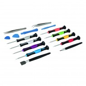 Set surubelnite de precizie 16 piese , Silverline Precision Phone Repair Kit 16pce