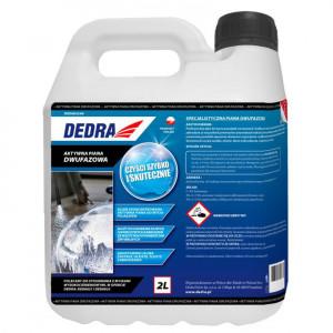 Spuma activa auto, 2 faze actiune, 2L, concentrat, Dedra