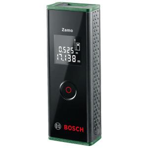 Telemetru cu display si laser , 20 m, ± 3 mm prezicie, 635 nm dioda laser, Bosch Zamo III