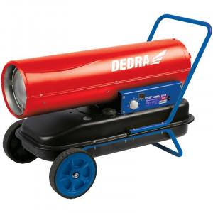 Tun de aer cald pe motorina 30 kW, termostat, Dedra