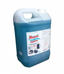 Solutie puternic igienizanta pe baza de alcool, minim 70% , profesional ,multisuprafete, 5L, Royal Hygiene