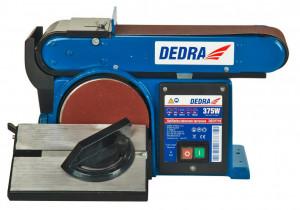 Masina pentru slefuit Dedra cu banda si disc 370 W