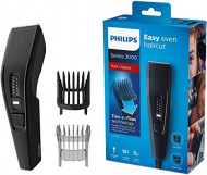 Aparat de tuns Philips Seria 3000, Negru