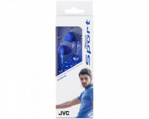 Casti audio In-ear JVC Sport HA-EN10-AA, Albastru