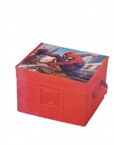 Cutie depozitare cu capac, Spiderman, 30x25x20 cm, Marvel