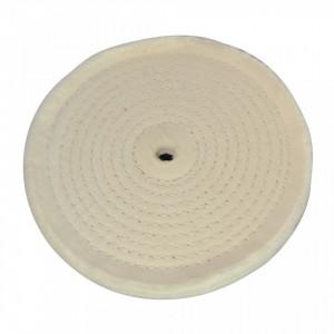 Disc bumbac pentru slefuitor de banc, 150mm, Silverline