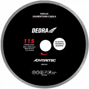 Disc diamantat, ceramica, faianta, gresie, piatra naturala, 230 X 22.2mm, Dedra