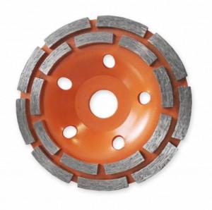Disc Diamantat Dublu pentru slefuire beton D=125 mm Dedra