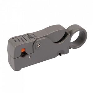 Dispozitiv dezizolat cablu coaxial, 100mm, cablu 4-12mm, Silverline
