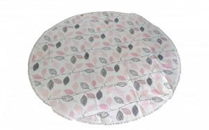 Fata de masa rotunda, 155cm, 100% polipropilen, oeko-tex standard 100, model frunze, VKTools