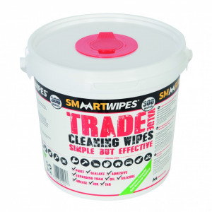 Galeata cu 300 buc servetele umede pentru curatat Trade Value Cleaning Wipes