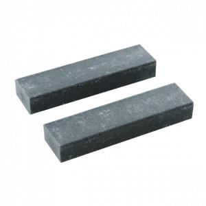 Guma de cauciuc 2 buc pentru curatat , 75 x 19 x 11 mm , Silverline Bath Rubber 2pk