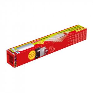 Invelitori ajustabile pp easy cover, Herlitz, dimensiune 585x340 mm, 24 colturi + 5 etichete, set de 5 bucati in cutie de carton