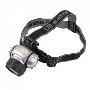 Lanterna cap, 6 leduri, directionala, 30 lumeni, Silverline