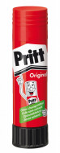 Lipici hartie transparent tip baton, 43g, 90% elemente BIO, Pritt